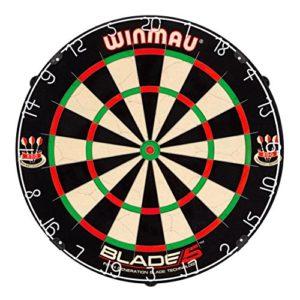 Winmau Blade 5 Dartboard / Dartscheibe / Dartscheiben-Testsieger.de / Unicorn vs Winmau