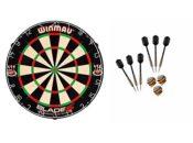 Winmau Blade 5 Dartboard + 6 McDart Steeldarts