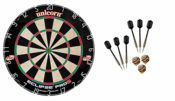 Unicorn Dart Board Eclipse Pro2 Bristle Board + 6 McDart Steeldarts / Dartscheiben-Testsieger.de / Dart Set