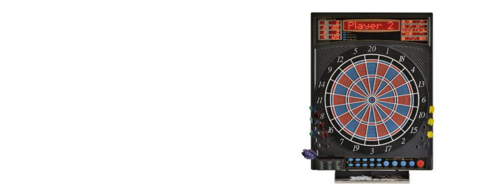 Elektronische Dartscheibe Dartona JX2000 Turnier Pro Slider / Dartscheiben-Testsieger.de