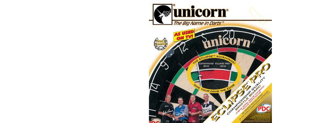 Unicorn Bristle Dartboard Eclipse Slider / Dartscheiben-Testsieger.de
