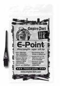 E-Point Spitzen 2BA Schwarz (100 Stück) - Elektronische Dartscheibe Dartona JX2000 Turnier Pro - Dartscheiben-Testsieger.de