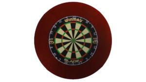 Dart Catchring (Surround/Auffangring) (Rot) - 1 Dartsurround von McDart / Dartscheiben-testsieger.de