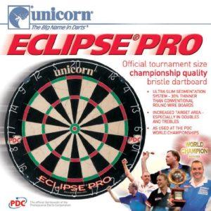Unicorn Bristle Dartboard Eclipse    Dartscheiben-Testsieger.de