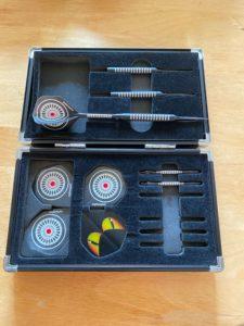 myDartpfeil montierter Dartpfeil - Dartscheiben-Testsieger